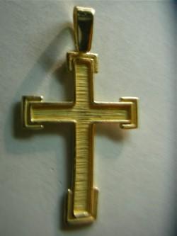 cruz oro plata