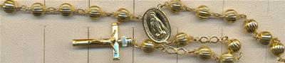 rosarios oro plata