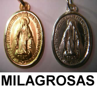 milagrosa oro plata