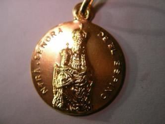 medalla ainhoa oro plata