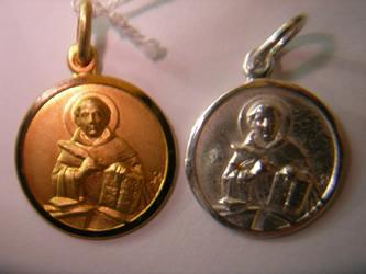 medalla santo tomas de aquino