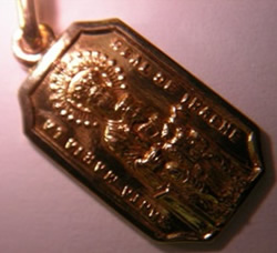 medalla virgen de iratxe