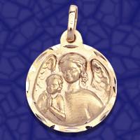 medalla angel guarda