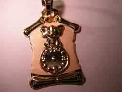 pergamino medalla reloj