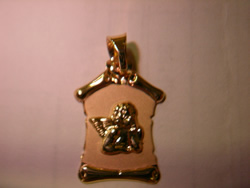 pergamino medalla angelito