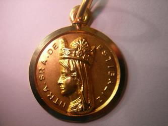 medalla Ntra.Sra.de Estibaliz
