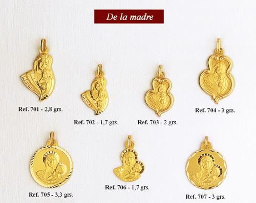 medallas de la madre