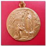 medalla Ntra.Sra.de Lourdes