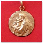 medalla San Antonio de Padua