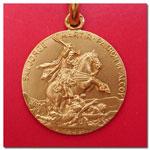 medalla San Jorge Martir