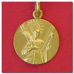 medalla Santa Eulalia