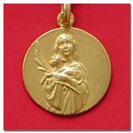 medalla Santa Ines