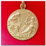 medalla Santisima Trinidad