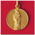 medalla Virgen Blanca