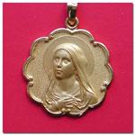 medalla Virgen Maria