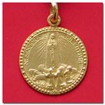 medalla Virgen de Fatima