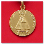 medalla Virgen de Guadalupe