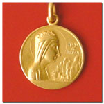 medalla Virgen de Montserrat
