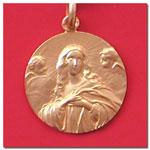 medalla Virgen de Purisima