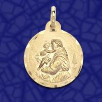 medalla san Antonio