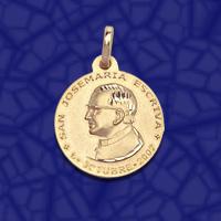 medalla San Jose Maria Escriva