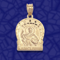 medalla san Vicente Ferrer