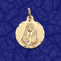 medalla santa Lucia