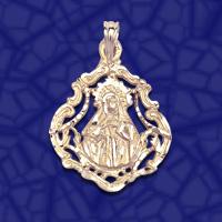 medalla santa Teresa de Jesus