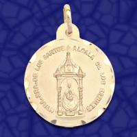 medalla virgen Alcala de los Gazules
