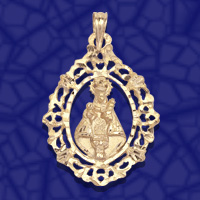 medalla virgen covadonga
