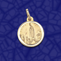 medalla virgen Fatima