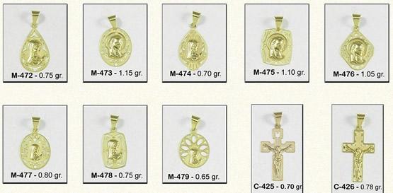 medalla comunion