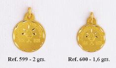 medallas primera comunion