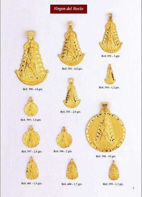 medalla rocio