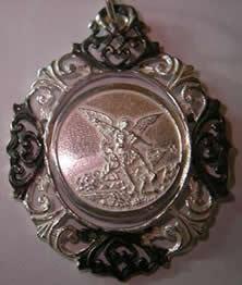medalla angel custodio orla