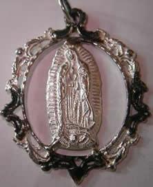 medalla guadalupe orla