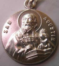 medalla san agustin