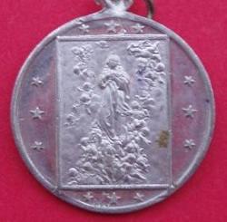 medalla inmaculada concepcion
