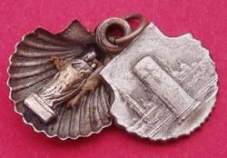 medalla concha pilar