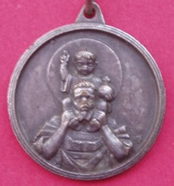 medalla san cristobal