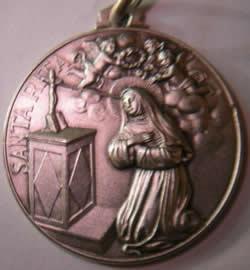 medalla santa rita