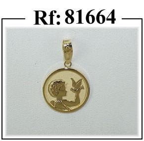 medalla angel paloma