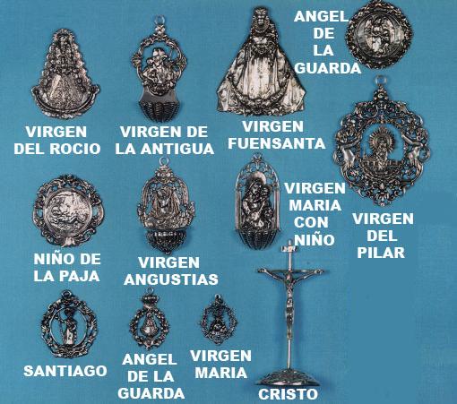 medallas virgenes